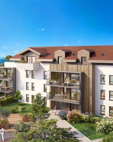 Programme Neuf Annecy-le-Vieux - LA COUR DES TILLEULS | EDIFIM
