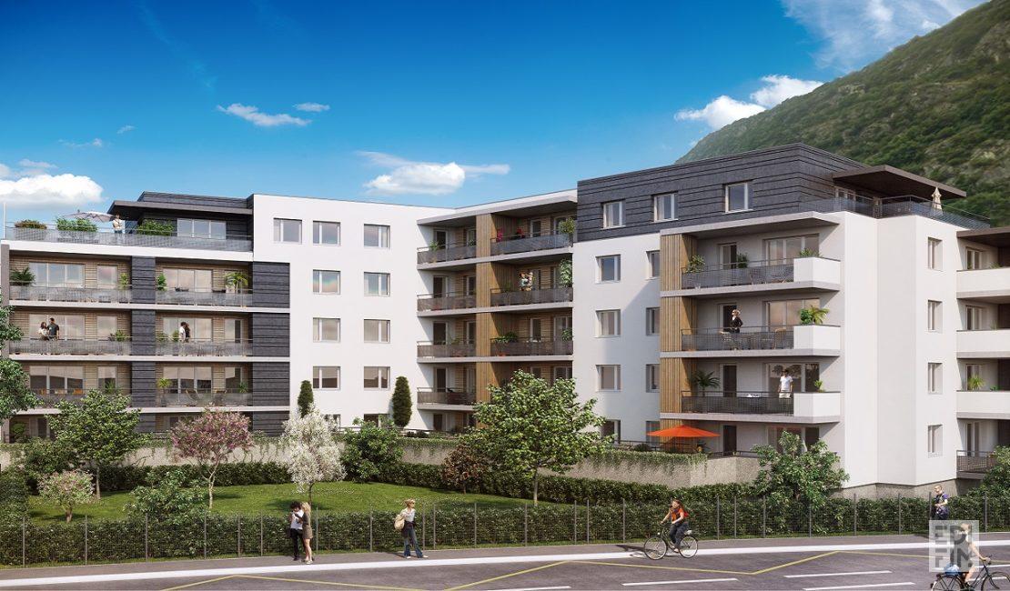 Programme Immobilier Saint-Egrève - L'EMPREINTE   EDIFIM