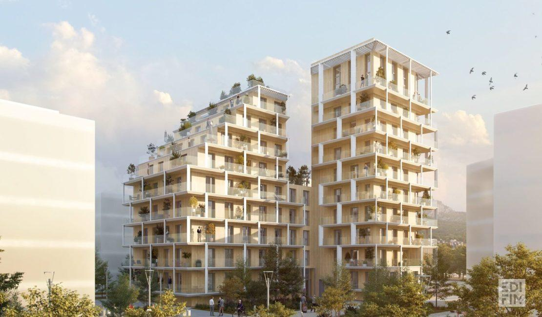 Programme Neuf Grenoble - GINKGO   EDIFIM