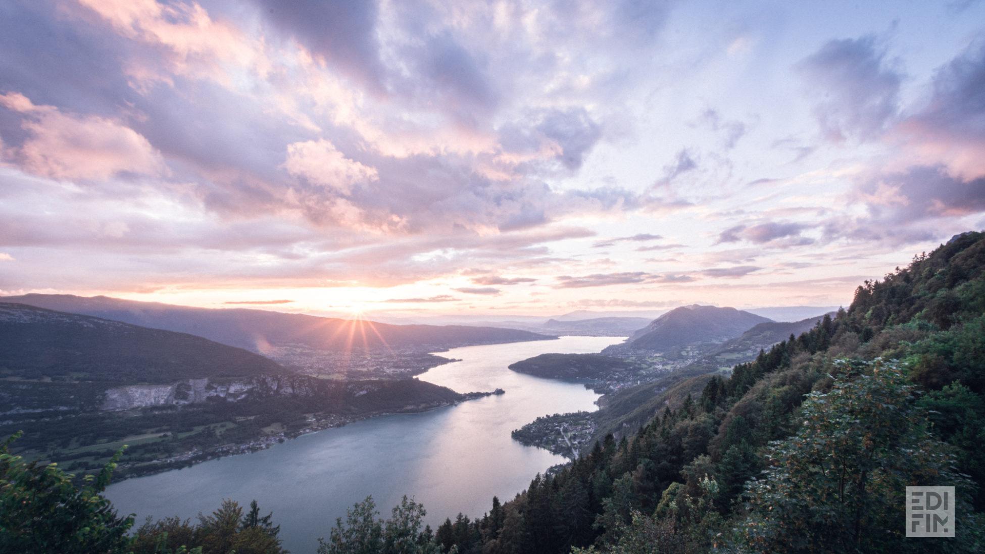 Le lac d'Annecy - Photo Anna Ivanova Photography