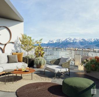 Programme Neuf Grenoble - L' Opaline | EDIFIM